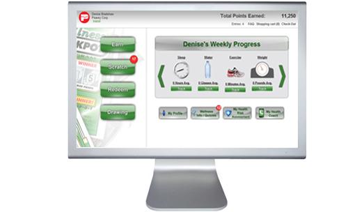 Wellness Jackpot Online Incentive